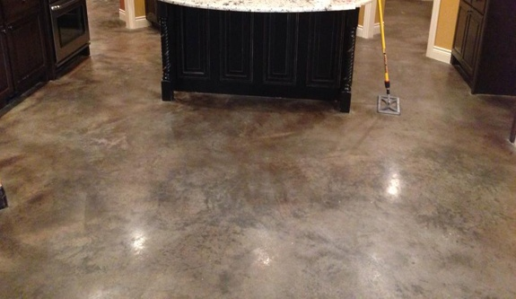Nwa Dealpiggy Stained Concrete Or Epoxy Garage Flooring For How To Clean Stained  Concrete Garage Floors